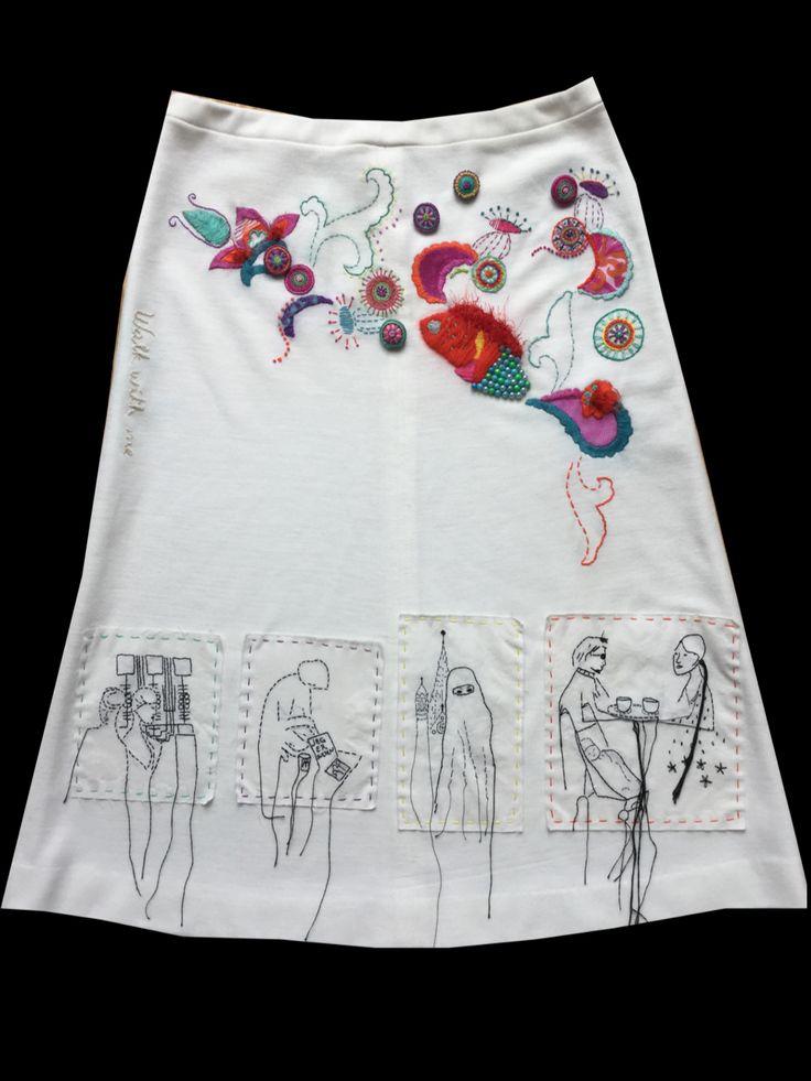 Exam - Textile - Theme: Opposites