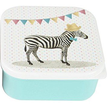 Sass and Belle by RJB Stone – Brotzeitdose Disney, Lunch Box Lunch – Sets a Zebramuster