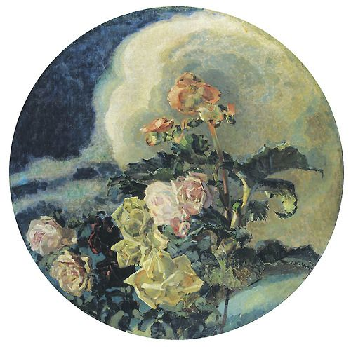 Mikhail Vrubel -  Yellow Roses (1894)