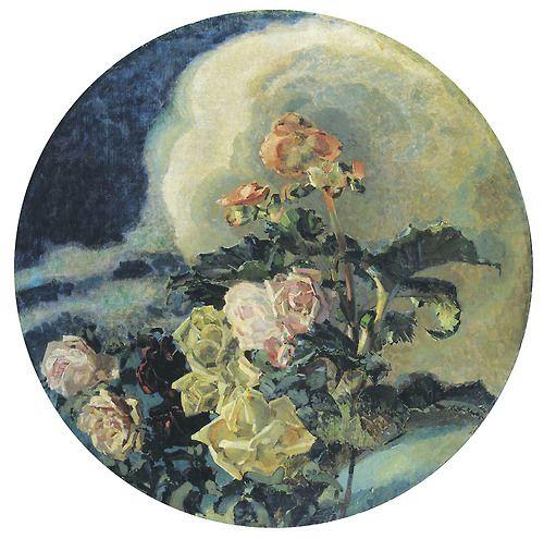 Mikhail Vrubel -  Yellow Roses (1894)