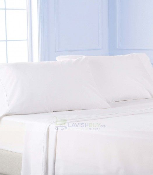white twin xl egyptian cotton sheet set 1000tc