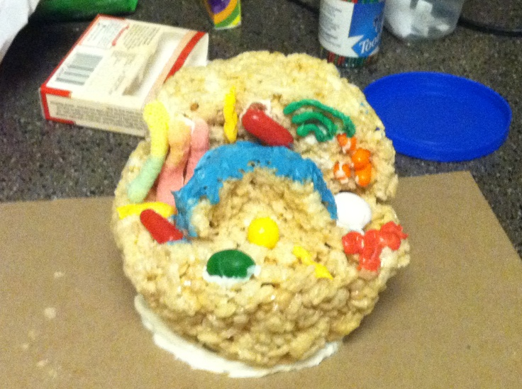 Edible cell projects