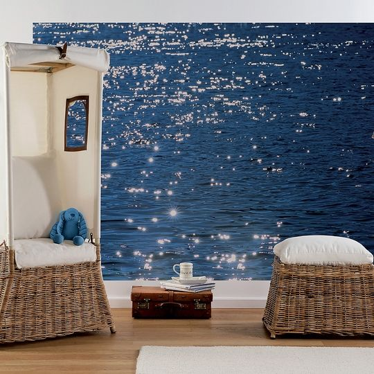 Stelle Di Mare Wall Mural Design By Komar For Brewster Home Fashions
