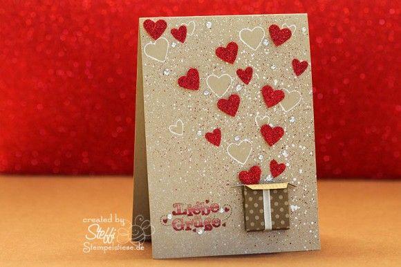 Box full of hearts