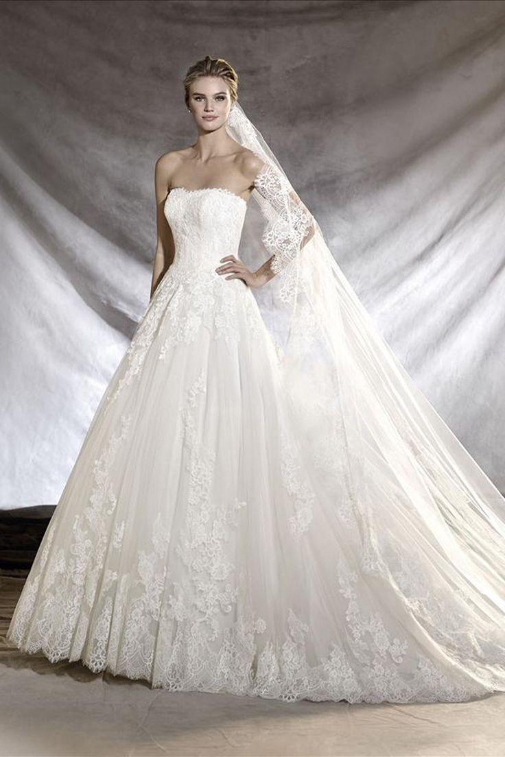 35 besten Trouwjurken Bilder auf Pinterest | Hochzeitskleider ...