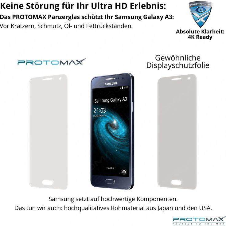 #PROTOMAX #Displayschutzfolie im Vergleich zu einer herkömmlichen #Schutzfolie: Zahlreiche wissenschaftliche Studien haben in Tests belegt, dass die Benutzung von #Handy, #Smartphone, #Fitnesstracker, #Tablet, #Phablet, #Laptop, #Wearable, #Mobiltelefon, #Natel oder #Smartwatch mit LED/LCD Technologie Sie schlechter schlafen lässt. http://protomax.de/shop/displayschutzfolien-panzerglas/panzerglas/samsung-galaxy-a3-panzerglas-displayschutz