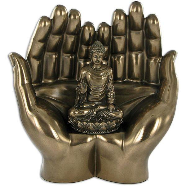 Buddha Hands Statue