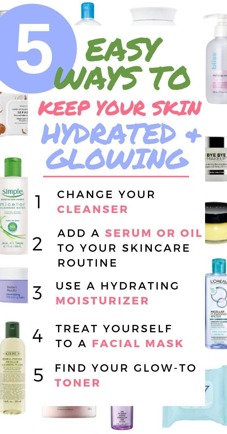5 Easy Ways To Keep Your Skin Hydrated And Glowing Facial Care Routine Skin Care Skin Care Routine