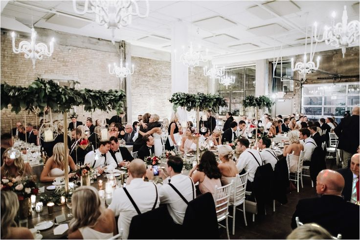 Loring Social Reception - St. Kates Chapel Wedding- Geometric Shapes - Gold Details
