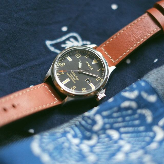 FYI : @Timex launches a special collection of The Waterbury watches that features straps made with Red Wing Shoe leather. This collection was designed to reflect the American heritage of both brands, as evidenced in details such as the vintage-inspired dial design and the Red Wing Shoe Leather logo stamped into the strap keeper. . Red Wing Shoes was founded in Red Wing, Minnesota in 1905 and is built on the principle of manufacturing footwear that represents the American ideals of…