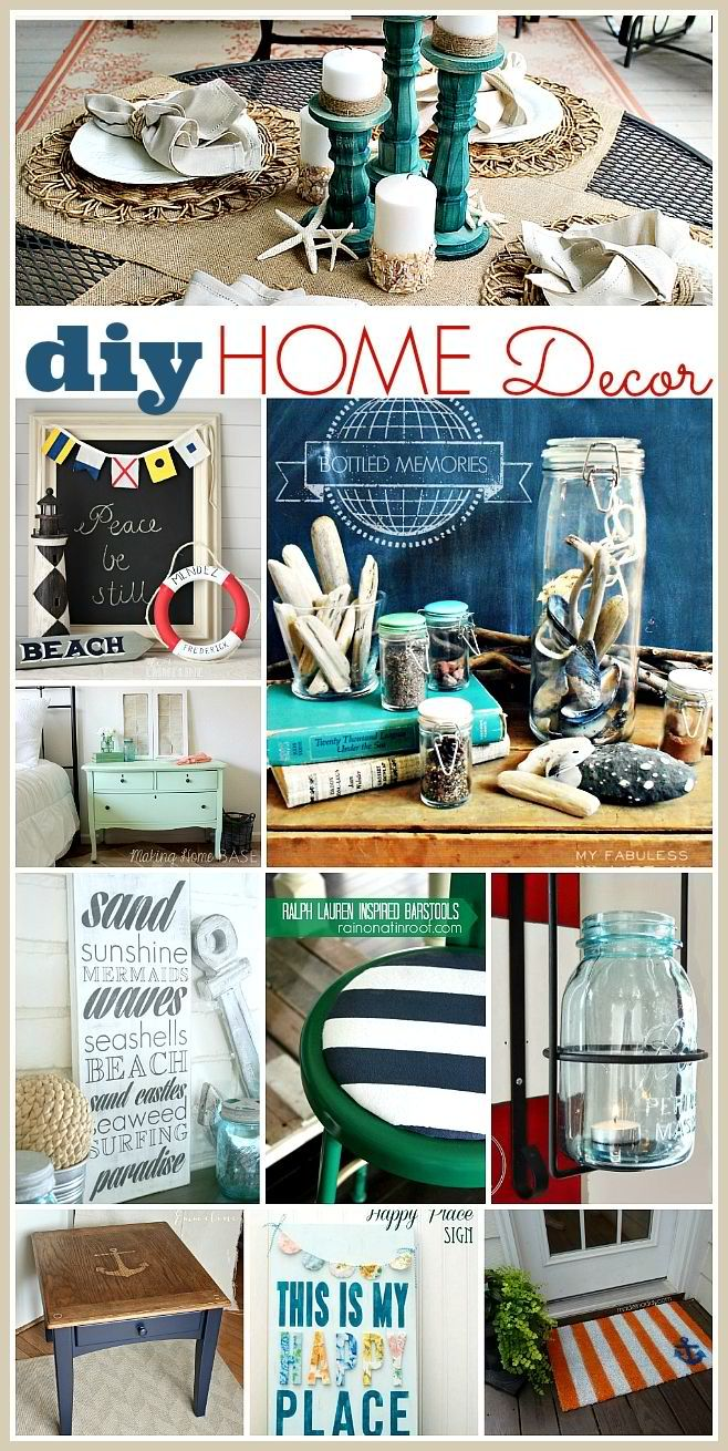 Amazing DIY Home Decorating Ideas