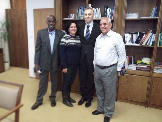 Počas návštevy Slovenska absolvovali Kubánski aktivisti aj stretnutie s podpredsedom NR SR a predsedom KDH, Jánom Figeľom.