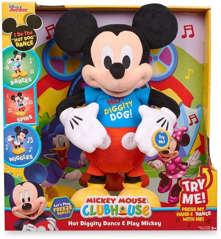 Disney Mickey Mouse Hot Diggity Dance Play Plush Sponsored