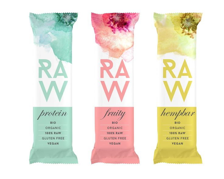 30 best raw food trend in packaging images on pinterest for Food bar packaging