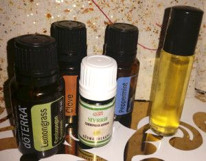 Thyroid Support Blend of Essential Oils for Hypothyroid