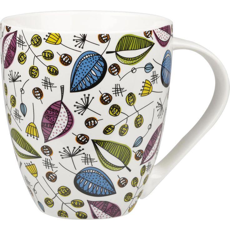 Prachtige stijlvolle theemok met het Engelse Kensington patroon. Deze mok heeft een inhoud van 500ml wat ideaal is voor thee.