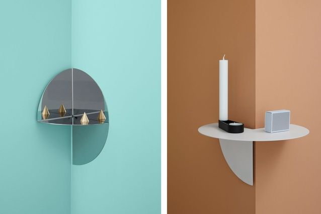 The Pivot shelf, designed by Lex Pott for Hay.