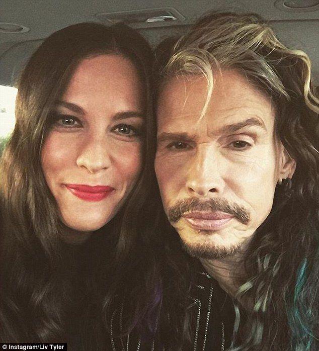 Steven & daughter Liv Tyler