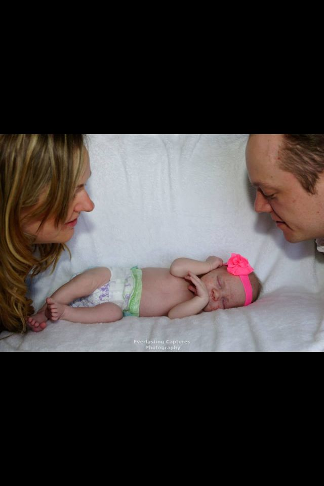 Mommy, Daddy and Baby Emma!