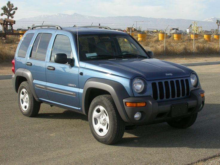 Jeep Liberty 2004-looks just like my new baby!