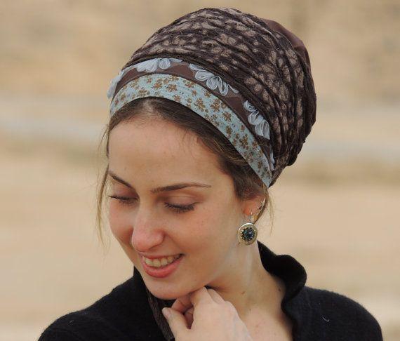 Faszinierende Sinar Tichel, Haar Snood, Kopftuch, Kopf abdeckt, jüdische Kopfbedeckung, Schal, Kopftuch, Schürze