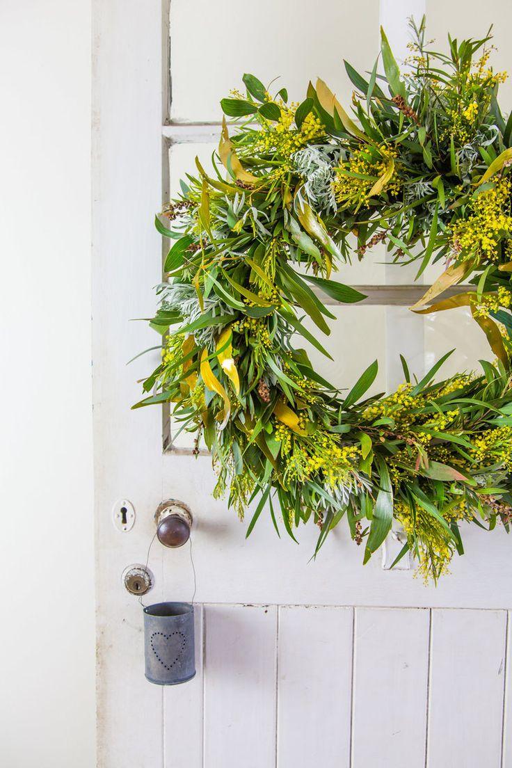 DIY Christmas Advent Wreath + Video — The Whimsical Wife