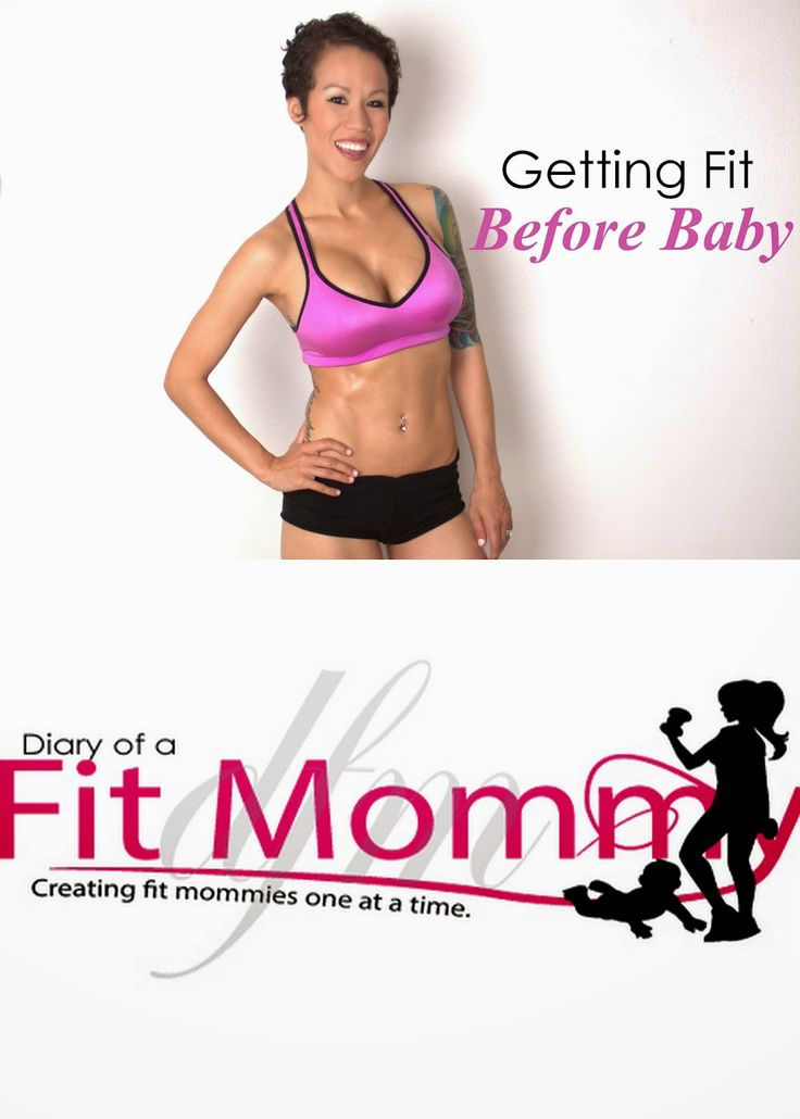 This fit mommy explains how you can get fit before your next pregnancy! <--That's my girl!