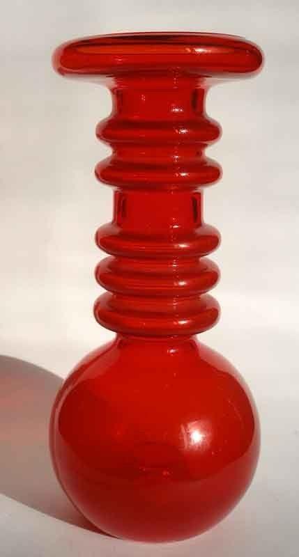 Art Glass Vase, Tamara Aladin, Lasi Riihimaki