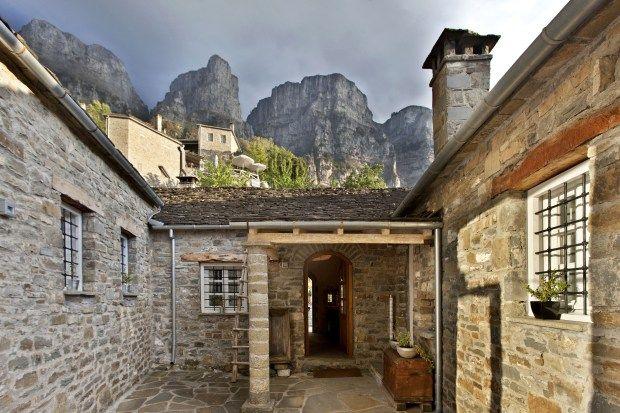 mountain resorts greece mikro papigko