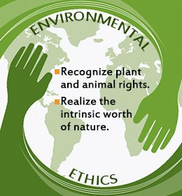 a role of the environmental ethics Explores the different motivations and ethics underlying environmental protection, while section 4 presents aspects of the most relevant international legal instruments in section 5,.