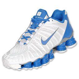 The Nike Shox TLX Women's Running Shoes feature a full length shox platform for superior cushioning and impact absorption, shox cushioning for total support, perforated synthetic upper for durability and breathability and reflective elements for increased visibility. Grab a pair of these men's running shoes before your next workout - you won't regret it!