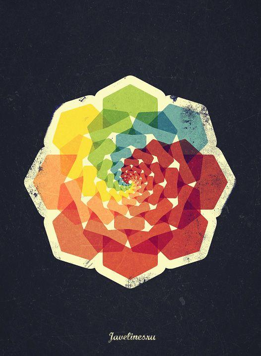 Geometric Pattern Poster.
