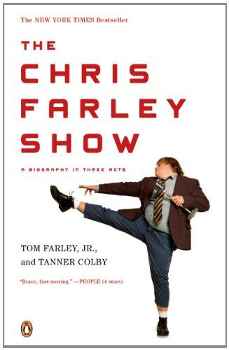 The Chris Farley Show: A Biography in Three Acts by Tom Farley Jr. http://www.amazon.com/dp/0143115561/ref=cm_sw_r_pi_dp_4Th7tb1NS9KF9