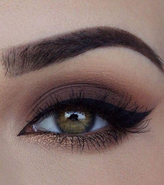 Le maquillage pour les yeux verts