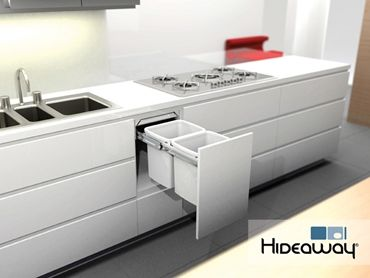 Hideaway Bins offers an intelligent waste disposal solution in any home or commercial environment.  Read more at http://www.infolink.com.au/c/hideaway-bins/hideaway-deluxe-bins-with-clinikill-antibacterial-powder-coat-lid-n2507332#zbEvFXQVXMvIlQiE.99