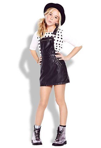 Tough-Girl Overall Dress (Kids) | FOREVER 21 - 2000090273