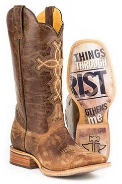 Tin Haul Ichthys Aroundus Men's Cowboy Boots (14-020-0007-0222 BR)0