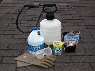 Need to do this:    How to Remove and Prevent Black Algae Stains on Asphalt Shingle Roofs | Danny Lipford
