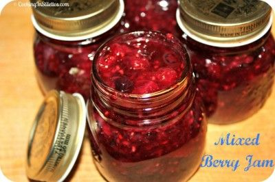 My new favorite tried and true: Mixed Berry Jam      http://cookinginstilettos.com/mixed-berry-jam/