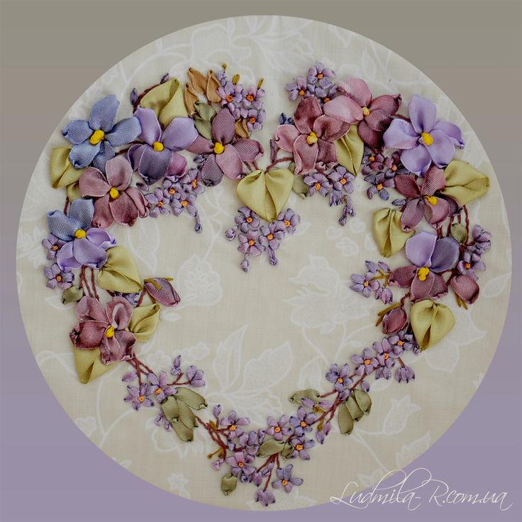 A Heart of Violets - I just love this
