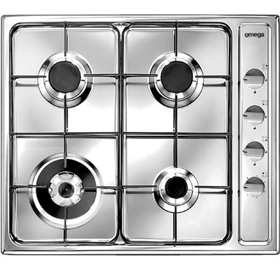 Omega Gas Cooktop OG61XA $269.95 51% off RRP
