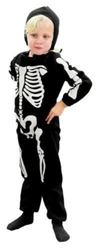 İskelet Kostümü, 3-4 Yaş Parti Kostümleri - Erkek Çocuk Parti Kostümleri Cadılar Bayramı / Halloween Kostümleri:  Kostümlü Parti, Kıyafet Balosu, Korku Temalı Partiler için ideal kostüm.  Üstü baskılı polyester kostüm başlık ve tulumdan oluşur.