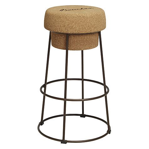 buy john lewis bouchon bar stool cork online at johnlewis. Black Bedroom Furniture Sets. Home Design Ideas