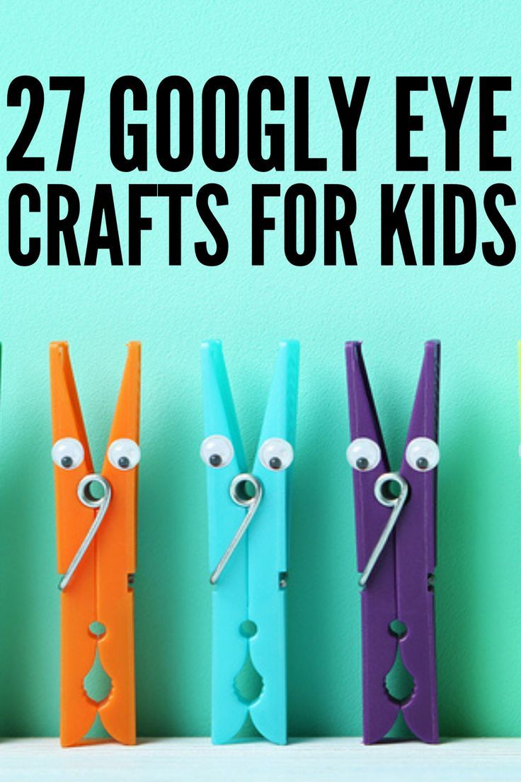 Fun And Awesome 27 Googly Eye Crafts For Kids They Ll Absolutely Love Googly Eye Crafts Crafts For Kids Halloween Crafts For Toddlers