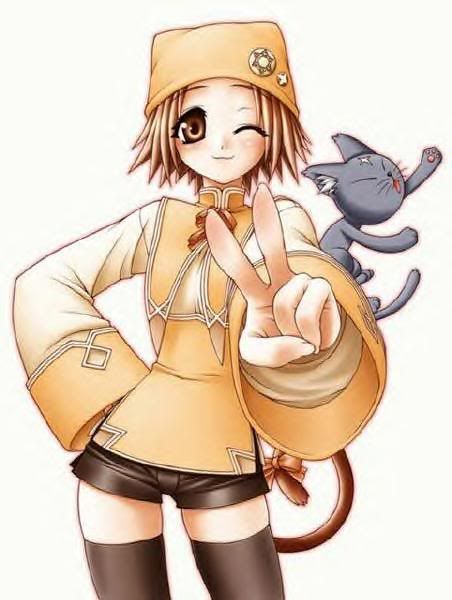 Anime Girl With Cat Hat anime girl with cat hat - google search anime ...