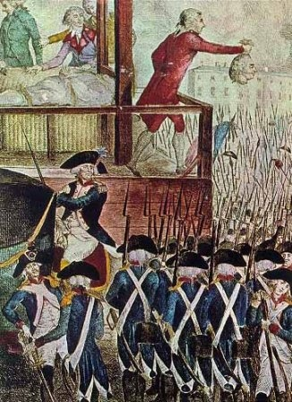 French Revolution: The king's execution.