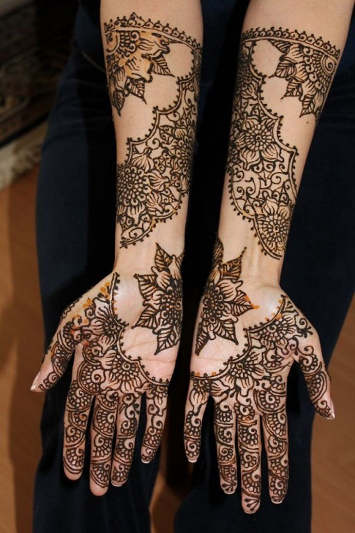 28 easy and simple mehndi designs that you should try in 2018 awesome mehndi designs. Black Bedroom Furniture Sets. Home Design Ideas