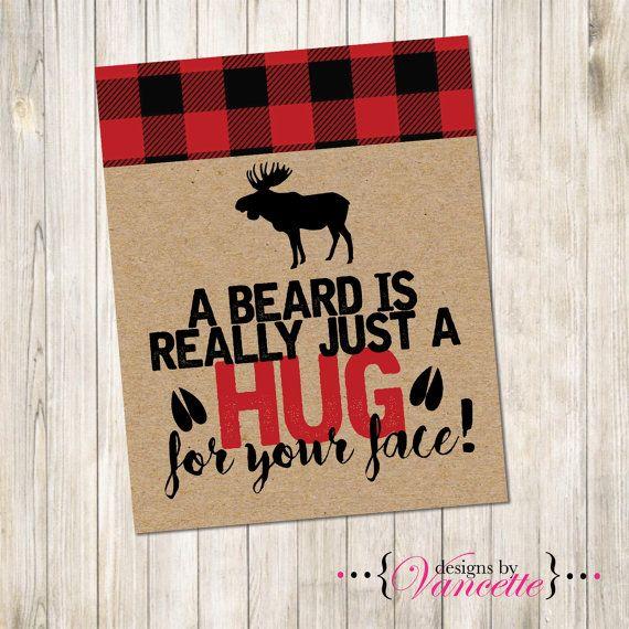 Lumberjack Beard is a Hug Sign Lumberjack by designsbyVancette