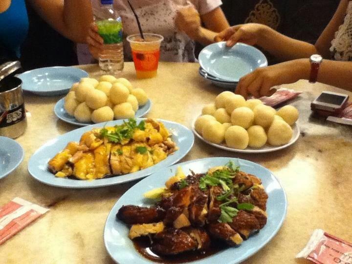 chicken rice ball FAMOSA, malaysia