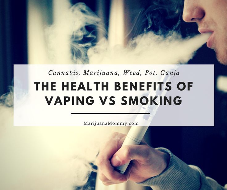 Is vaping healthier than smoking? Research indicates there are health benefits of vaping vs smoking weed. Using a portable vaporizer cuts down on some risks.